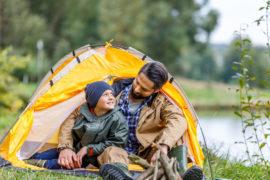 Aktiv ferie med camping